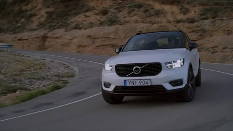 Volvo says all its fully electric vehicles, starting with its new C-40 Recharge, won't have...