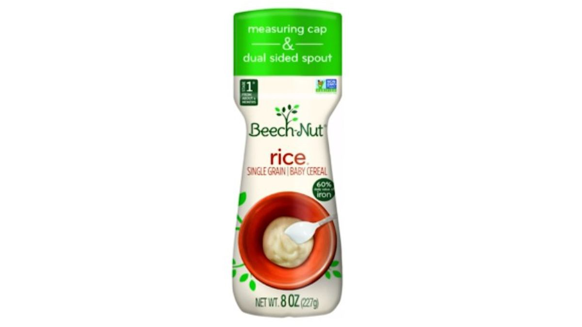 One lot of Beech-Nut Single Grain Rice cereal has been recalled.