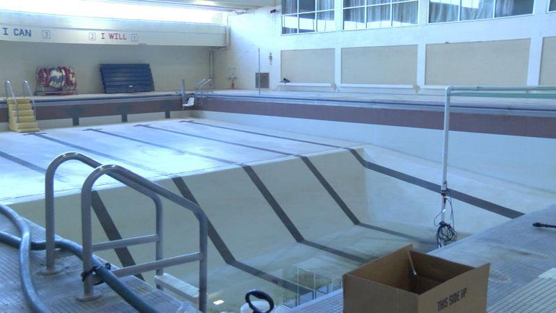 Talks are in the process to repair the pool at Splash Arena.