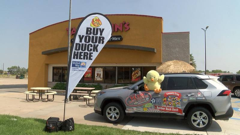 Purchasers of ducks are eligible for 40 prizes.