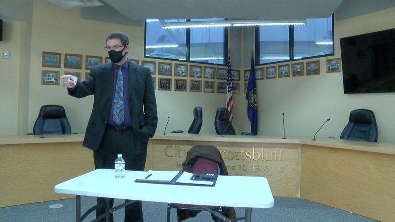 It's the final interview for Scottsbluff City Manager