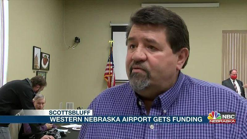Western Nebraska Regional Airport receives $ 1 million dollars in federal funding.