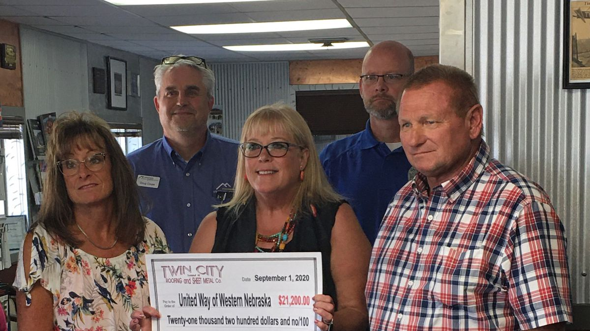 United Way receives a donation