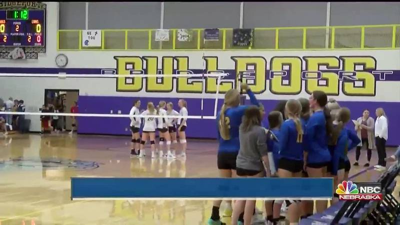 Host Bulldogs earn triangular win with victories over Morrill and Hemingford.