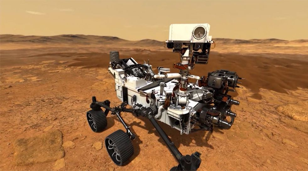 NASA is expected to launch its new Mars rover, Perserverance, on Thursday.