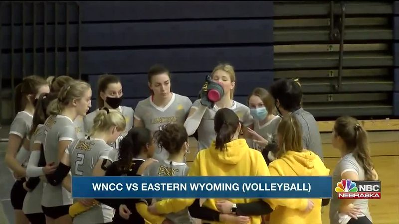 EWC finishes 2-0 on day one of Crossover Tournament.  WNCC finishes 1-1 on day one.