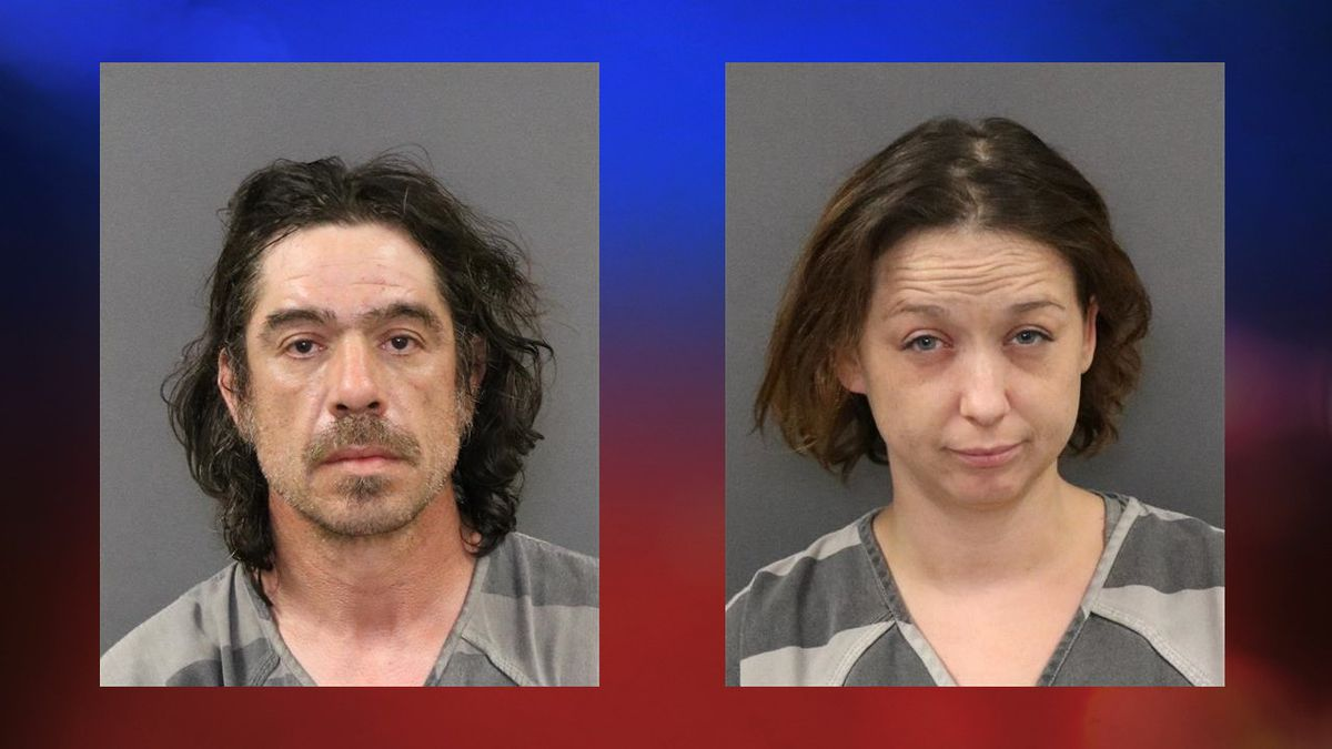 Steve Williams (left) and Jennifer Jones were arrested by troopers with the Nebraska State...