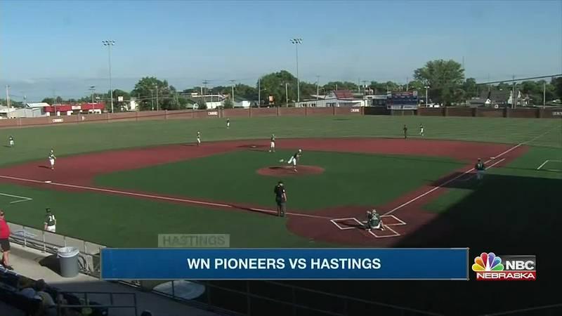 Pioneers earn 9-5 win over Hastings on Friday night.