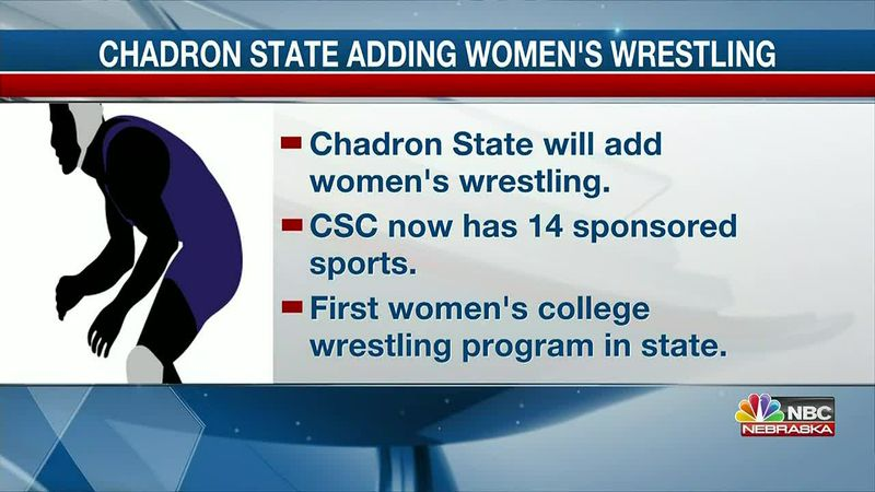 Chadron State will begin women's wrestling in the fall of 2021.