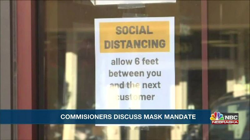 Scotts Bluff County Commissioners speak on mask mandate.