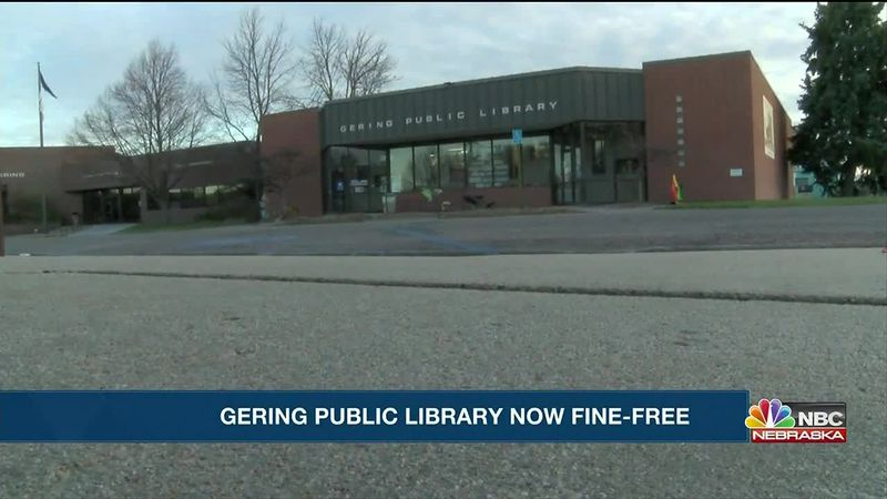 Gering Public Library goes fine-free.