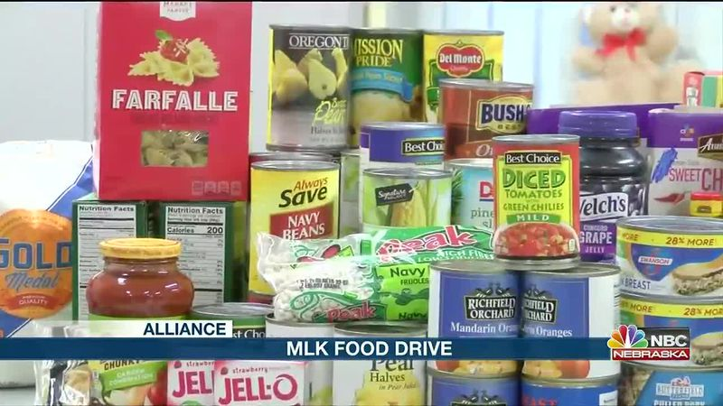 MLK Food Drive providing food for residents in Alliance.