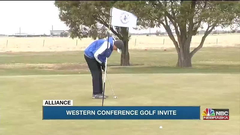High School Golfers compete in the Western Conference Invite and Morrill Boys Golf Invite.