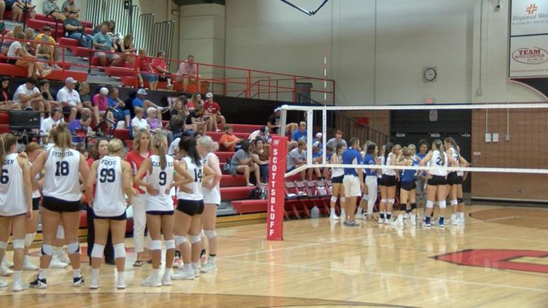 East All-Stars defeat West in football 35-6 and in volleyball three sets to two.