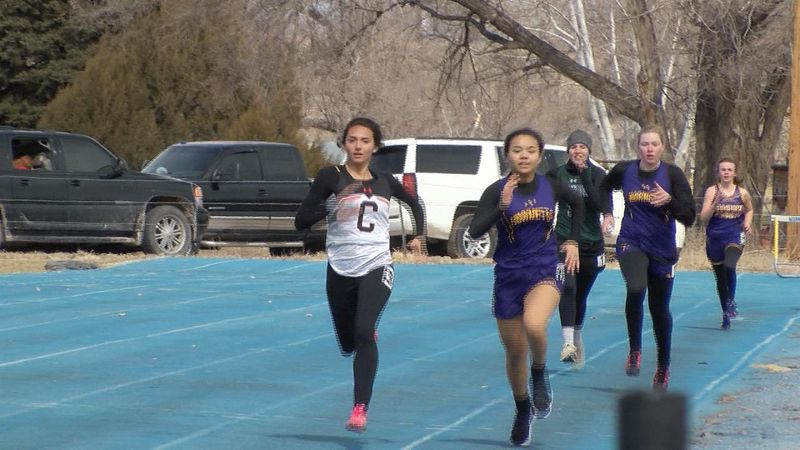 Mitchell boys and Crawford girls take top spots in team standings on Saturday.