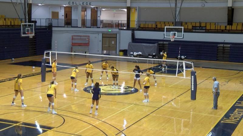 Western Nebraska Community College to open volleyball season Friday against Utah State Eastern.