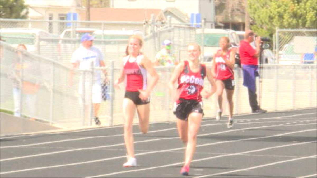 Several local athletes shine at GNAC Track and Field Meet in North Platte Thursday.