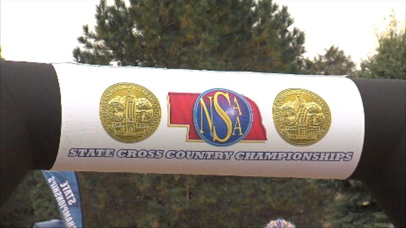Several local cross country runners finish strong in Kearney on Friday.