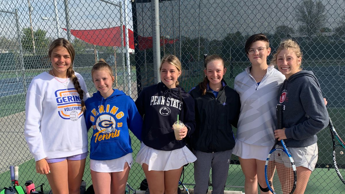 Gering ladies finish with two players in the top 8 in singles at state.