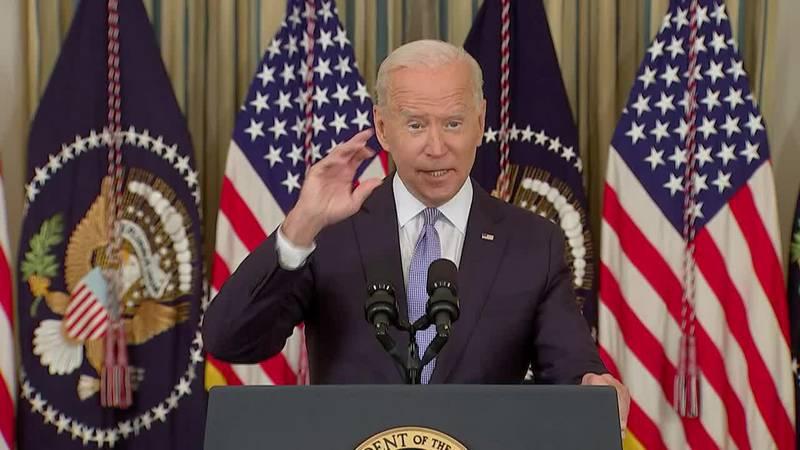 President Joe Biden touts COVID-19 booster shots as health experts debate about access.
