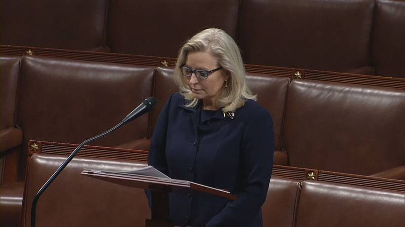 House Republicans voted in a closed-door meeting Wednesday to oust Rep. Liz Cheney as chair of...