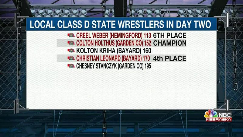 Three local wrestlers earn state medals in Class D on Thursday.