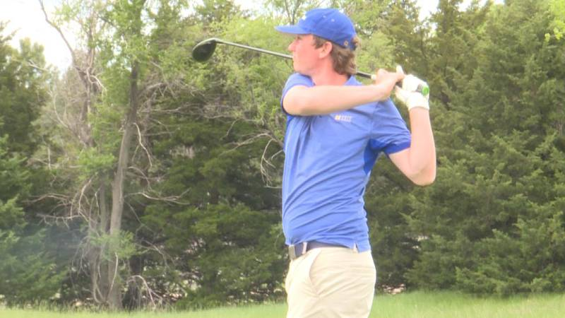 Morrill and Creek Valley golfers in action out in North Platte for state action on Tuesday and...