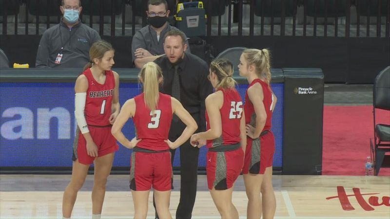 Scottsbluff ladies come up short in semi-final round to Elkhorn North on Friday in Lincoln.