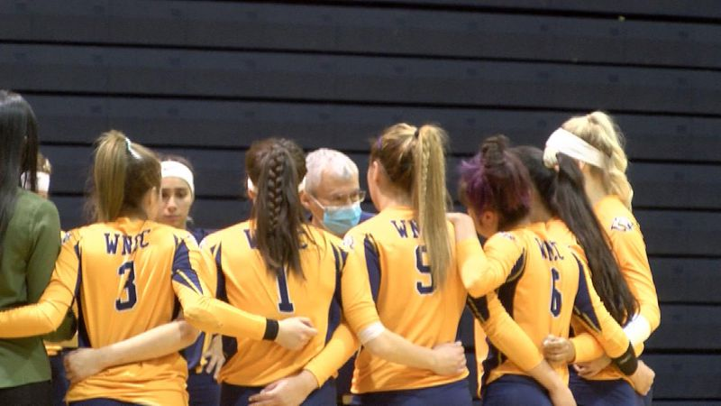 WNCC volleyball team moving into Region IX title match