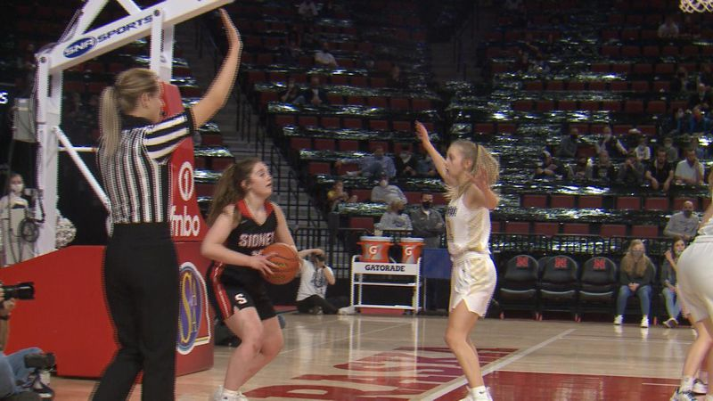 Sidney girls fall to Lincoln Lutheran in round one of Class C1 State Tournament.