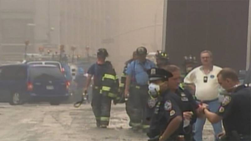 Heavy dust at the scene of the World Trade Center collapse in September 2001 have had a lasting...