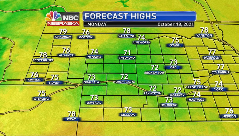 KNOP High Temps 10-18-2021