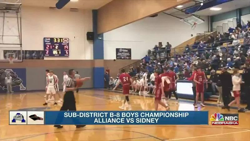 Bulldogs defeat Red Raiders 49-44 to claim B-8 Sub-District title.