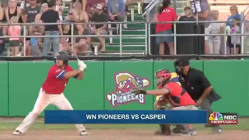 Western Nebraska Pioneers earn walk-off 9-7 win over Casper on Wednesday.  Westco Zephyrs earn...