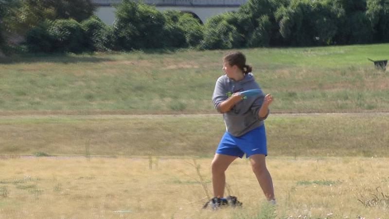 Disc golfers compete in Alliance for annual United Way event on Saturday.