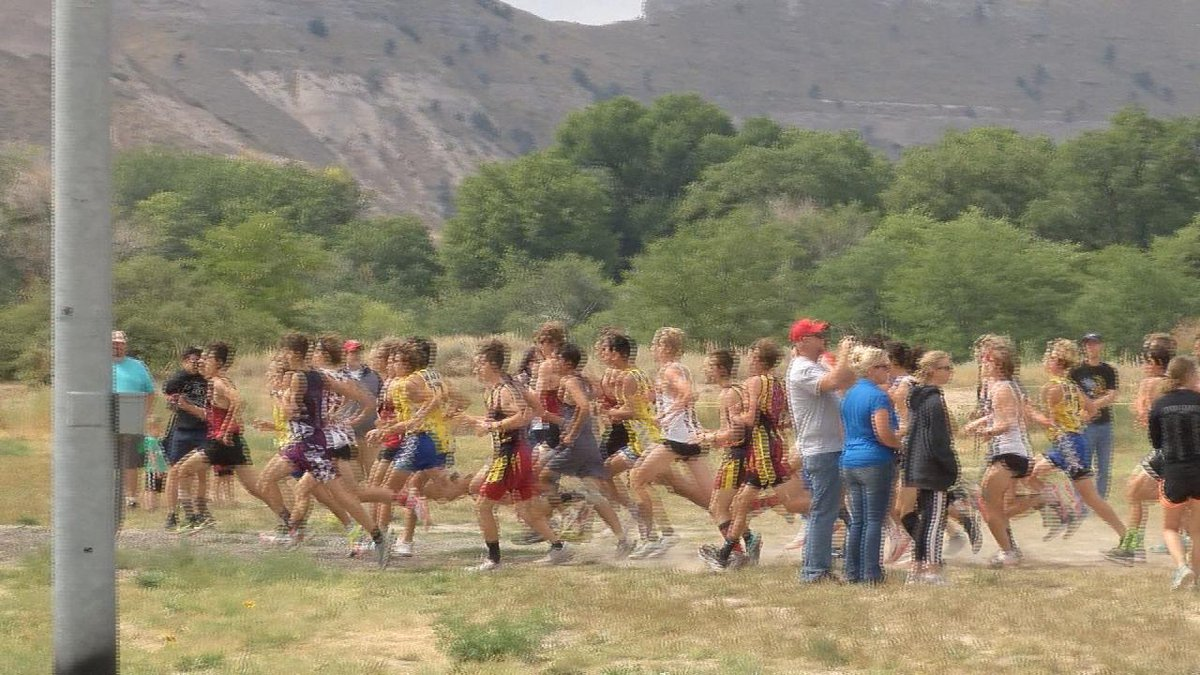 Sidney boys and girls cross country teams earn top team honors on Saturday.