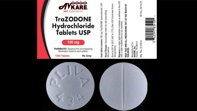"The company said sildenafil and trazodone tablets were ""inadvertently packaged together"" when..."