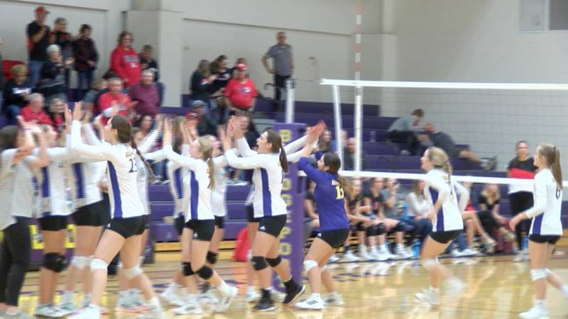 Several local teams earn wins on Monday in sub-district volleyball.