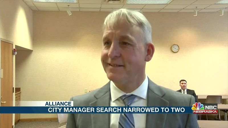 City of Alliance interviews the two finalists for City Manager.