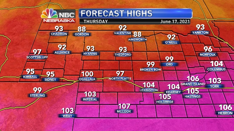 More record temperatures possible along with a heat illness threat.