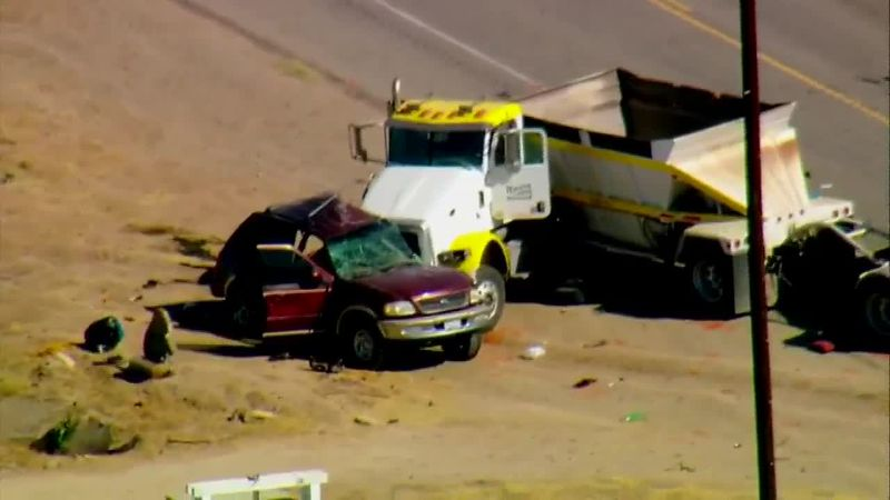"A ""mass casualty"" crash involving an SUV carrying 25 and a big rig is under investigation in..."