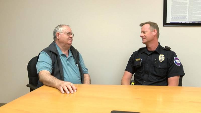 Richard Hickstein is the new police chief in Chadron.
