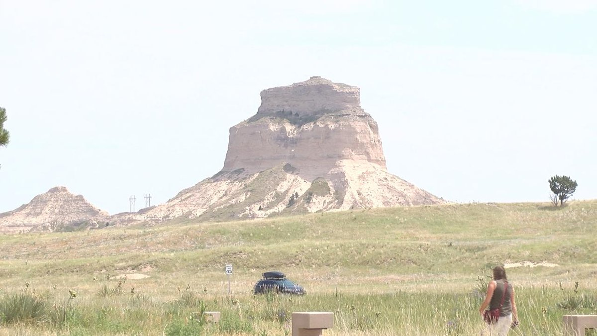 Scotts Bluff Monument is seeing more visitors post COVID.