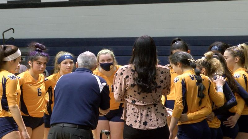 WNCC volleyball team earns straight sets win over Casper on Tuesday night.