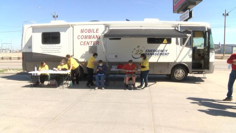 Mobile vaccine unit makes its debut in the Panhandle.
