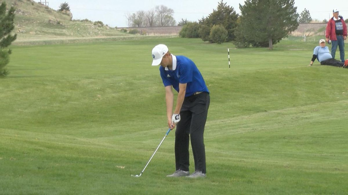 Alliance boys golf team fire a day one score of 346 to sit 6th after one round.