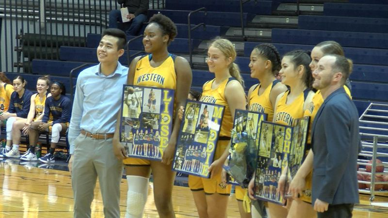 Lady Cougars earn double digit win over Otero to end regular season.  WNCC men come up short to...