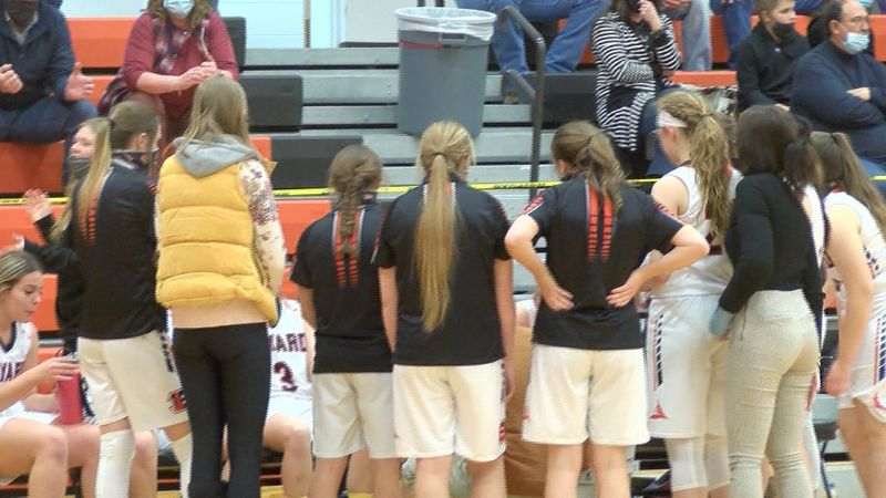 Bayard girls basketball team earns 45-41 win over Sioux County on Thursday night.
