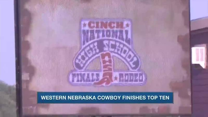 Several local athletes finish strong at National High School Finals Rodeo in Lincoln.