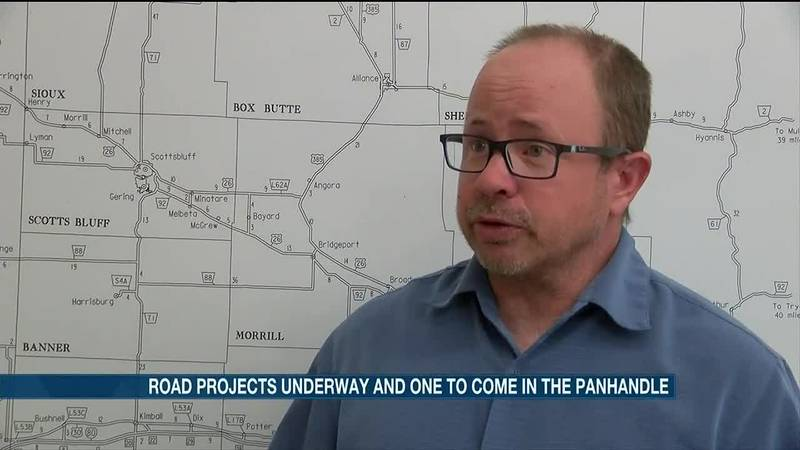 U.S. Highway 385 is under construction in Morrill County and State Highway 29 in Mitchell will...
